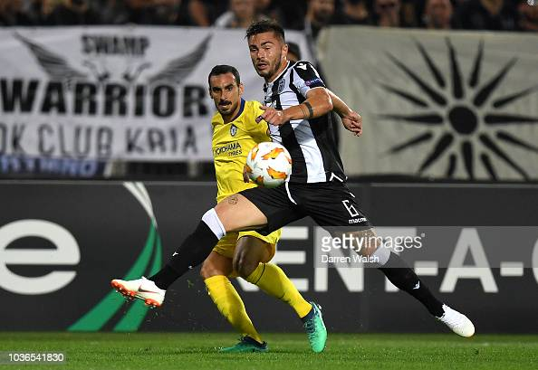 Davide Zappacosta Of Chelsea Crosses The Ball While Under
