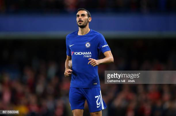 Davide Zappacosta of Chelsea during the Carabao Cup Third Round match between Chelsea and Nottingham Forest at Stamford Bridge on September 20 2017...