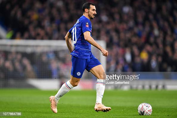 Davide Zappacosta Of Chelsea During The FA Cup Third Round