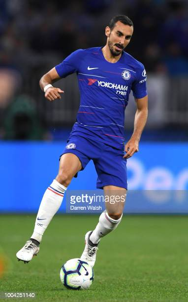 Davide Zappacosta of Chelsea during the international friendly between Chelsea FC and Perth Glory at Optus Stadium on July 23 2018 in Perth Australia
