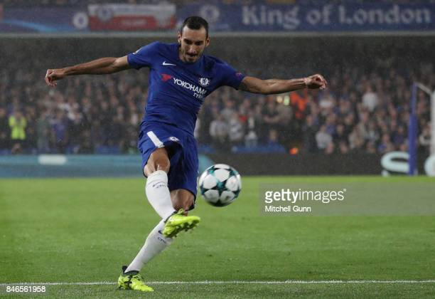 Davide Zappacosta of Chelsea during the UEFA Champions League group C match between Chelsea FC and Qarabag FK at Stamford Bridge on September 12 2017...