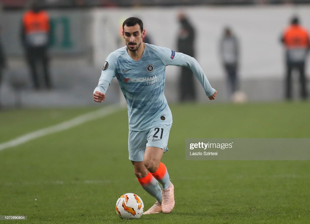 Davide Zappacosta Of Chelsea FC During The UEFA Europa