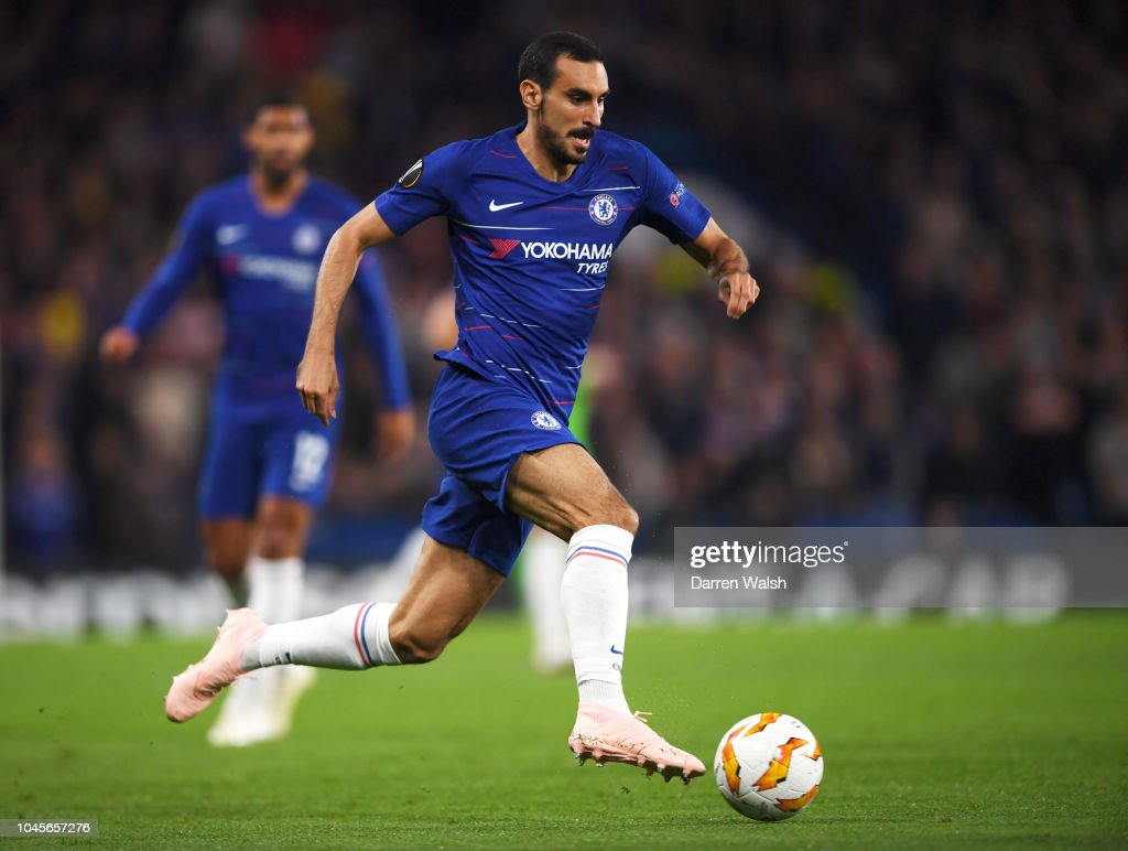 Davide Zappacosta Of Chelsea In Action During The UEFA