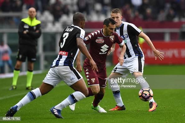 Davide Zappacosta Of FC Torino In Action Against Jakub