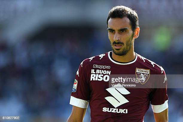 Davide Zappacosta of FC Torino looks on during the Serie A match between FC Torino and Empoli FC at Stadio Olimpico di Torino on September 18 2016 in...