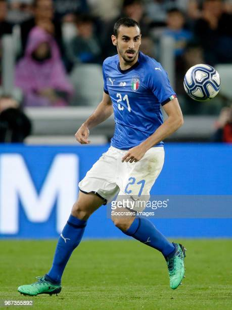 Davide Zappacosta of Italy during the International Friendly match between Italy v Holland at the Allianz Stadium on June 4 2018 in Turin Italy