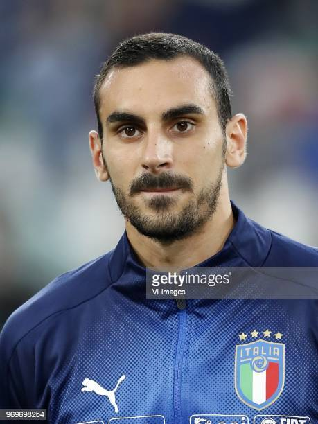 Davide Zappacosta of Italy during the International friendly match between Italy and The Netherlands at Allianz Stadium on June 04 2018 in Turin Italy