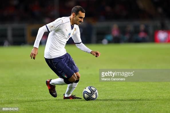 Davide Zappacosta Of Italy In Action During The FIFA 2018