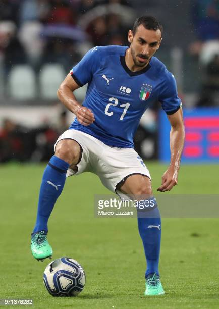 Davide Zappacosta of Italy in action during the International Friendly match between Italy and Netherlands at Allianz Stadium on June 4 2018 in Turin...