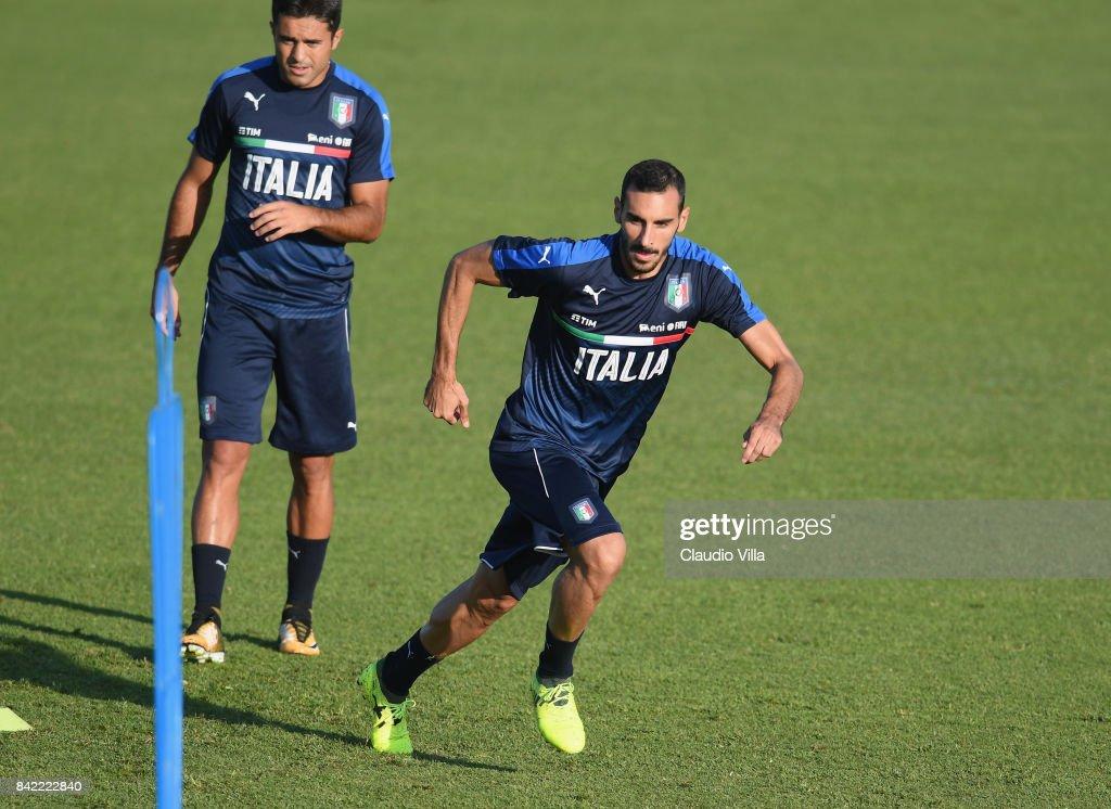 Italy Training Session : News Photo