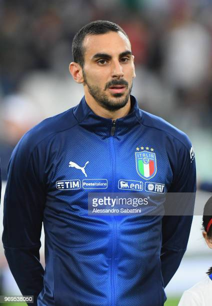 Davide Zappacosta of Italy'nlooks on before the International Friendly match between Italy and Netherlands at Allianz Stadium on June 4 2018 in Turin...