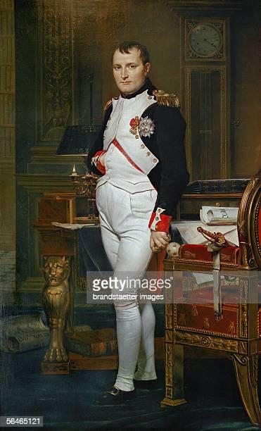 DavidJacques Louis Emperor Napoleon I Bonaparte Oil on canvas 204 x 125 cm Inv 1374 National Gallery WashingtonDC USA [Gemaelde von Napoleon I...