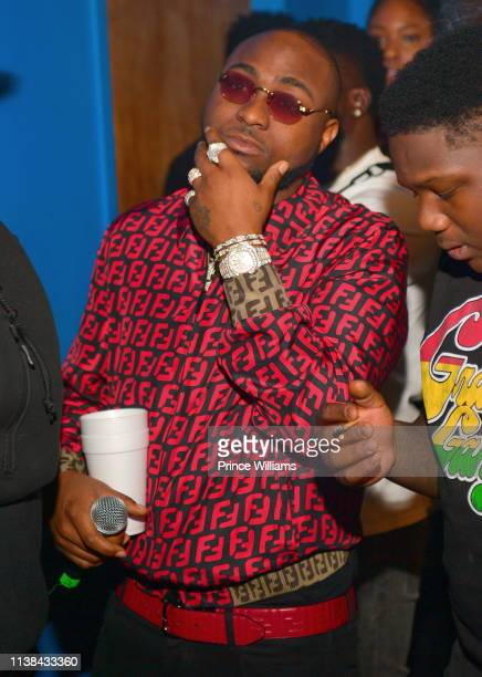 Davido is seen during Ecool Friends Birthday Celebration Concert at Loft on March 22 2019 in Atlanta Georgia
