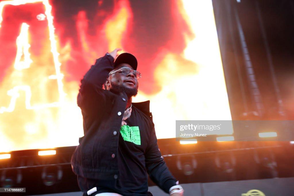 Davido performs during Summer Jam 2019 at MetLife Stadium on