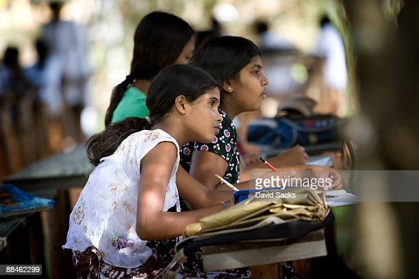?davidsacks - sri lankan school girls stock photos and pictures