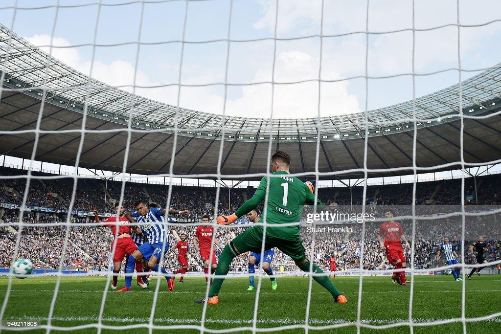 Hertha BSC v 1. FC Koeln - Bundesliga : Nachrichtenfoto