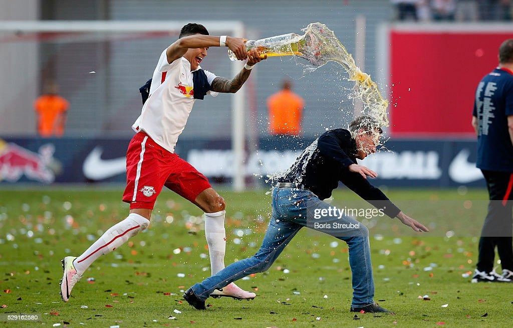 RB Leipzig v Karlsruher SC -  2. Bundesliga : News Photo