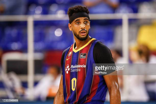 Davies of FC Barcelona during the Liga ACB playoff 3rd match of the semi final between FC Barcelona and Lenovo Tenerife at Palau Blaugrana on June...