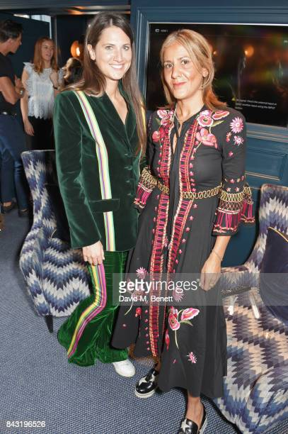 Davina Catt and Azzi Glasser attend a private breakfast hosted to launch of new fragrance 'After Hours' created by The Perfumer's Story exclusively...