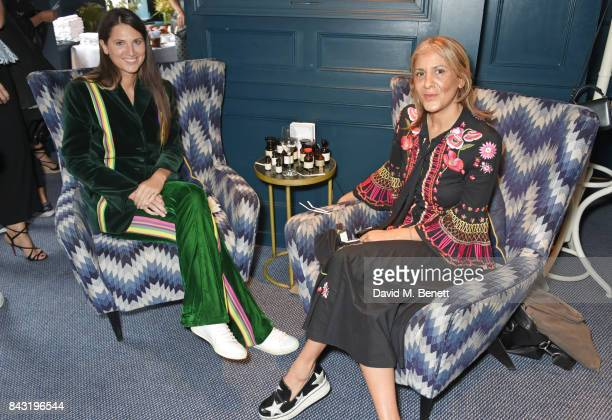 Davina Catt and Azzi Glasser speak at a private breakfast hosted to launch of new fragrance 'After Hours' created by The Perfumer's Story exclusively...