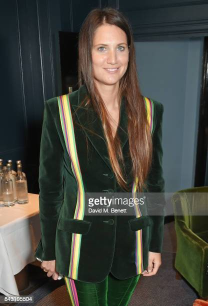 Davina Catt attends a private breakfast hosted by Azzi Glasser to launch of new fragrance 'After Hours' created by The Perfumer's Story exclusively...