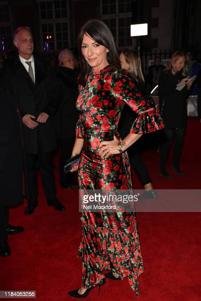 Davina McCall arrives on the red carpet of Pride of Britain 2019 at Grosvenor House Hotel on October 28 2019 in London England