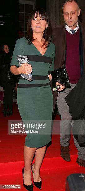 Davina McCall attending the Cosmopolitan Ultimate Women Of The Year Awards on December 3 2014 in London England