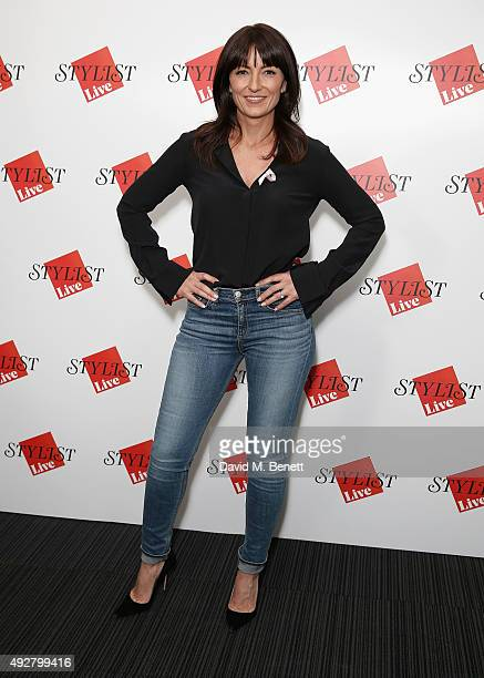 Davina McCall attends day one of Stylist Magazine's first ever 'Stylist Live' event at the Business Design Centre on October 15 2015 in London England
