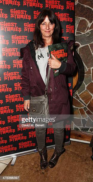 Davina McCall attends the after party for the press night of Ghost Stories at on February 27 2014 in London England