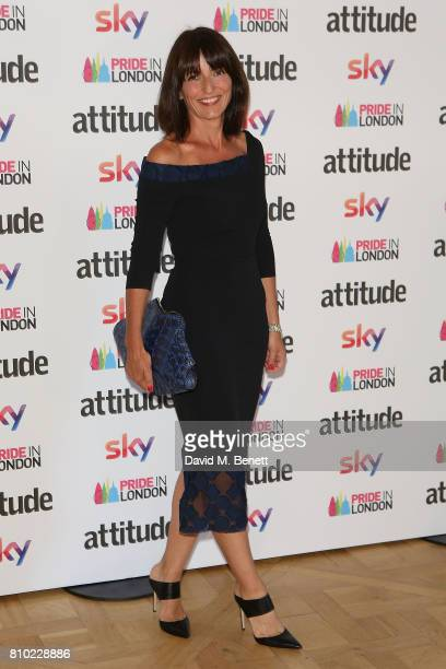 Davina McCall attends The Attitude Pride Awards 2017 at Mandarin Oriental Hyde Park on July 7 2017 in London England