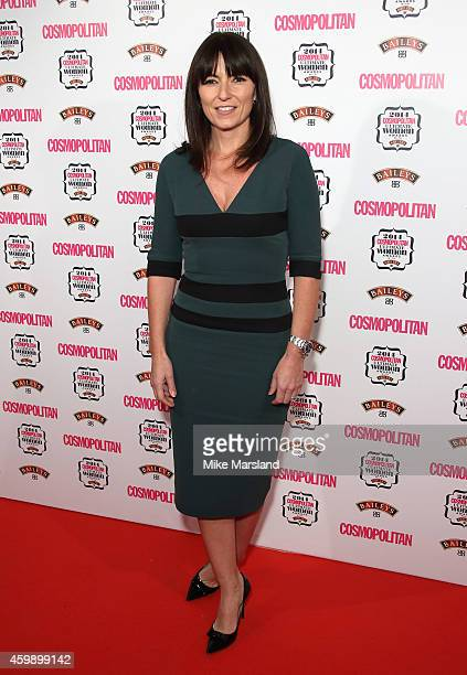 Davina McCall attends the Cosmopolitan Ultimate Women of the Year Awards at One Mayfair on December 3 2014 in London England