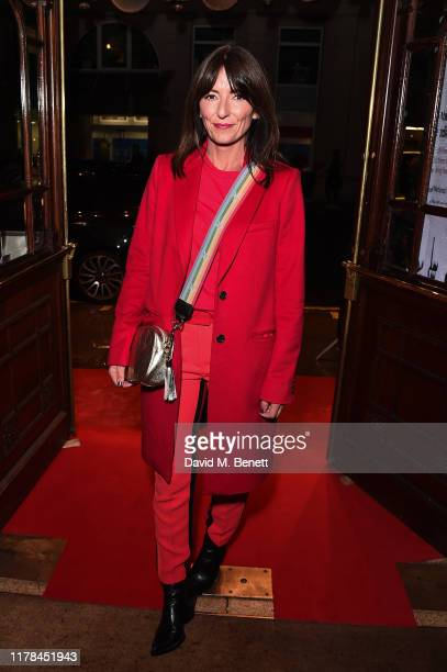 Davina McCall attends the English National Opera's opening night of the season featuring a performance of Orpheus and Eurydice at The London Coliseum...