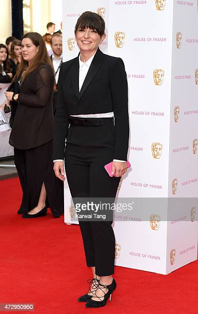 Davina McCall attends the House of Fraser British Academy Television Awards at Theatre Royal on May 10 2015 in London England