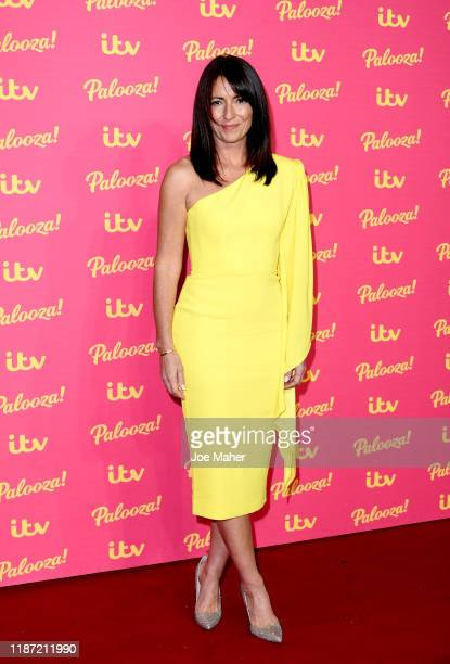 Davina McCall attends the ITV Palooza 2019 at The Royal Festival Hall on November 12 2019 in London England