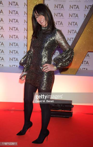 Davina McCall attends the National Television Awards 2020 at The O2 Arena on January 28, 2020 in London, England.