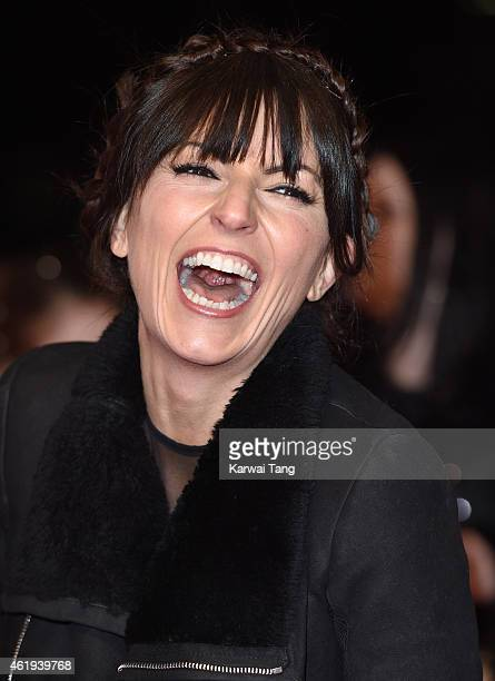 Davina McCall attends the National Television Awards at 02 Arena on January 21 2015 in London England