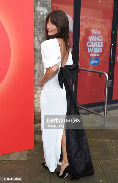 Davina McCall attends the Sun's Who Cares Wins Awards 2021 at The Roundhouse on September 14, 2021 in London, England.