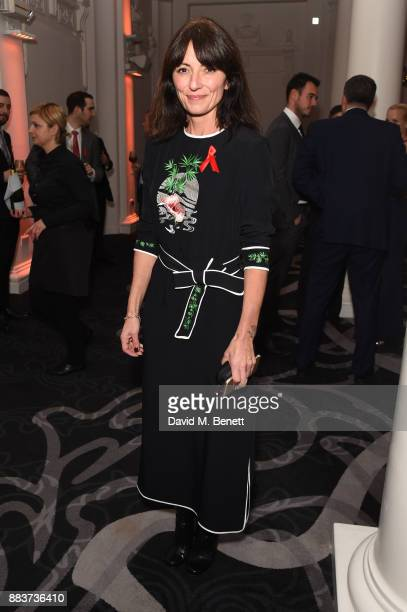 Davina McCall attends the World Aids Day Charity Gala aimed at using football to educate and inspire vulnerable young people in developing countries...