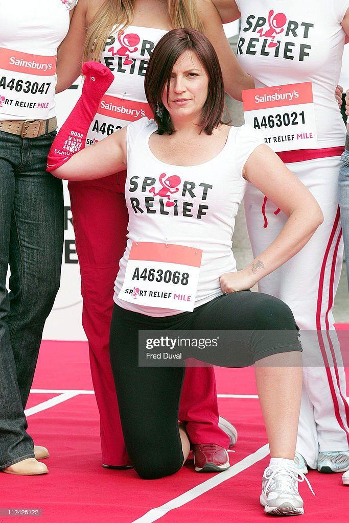 2006 Sport Relief Launch  - Photocall