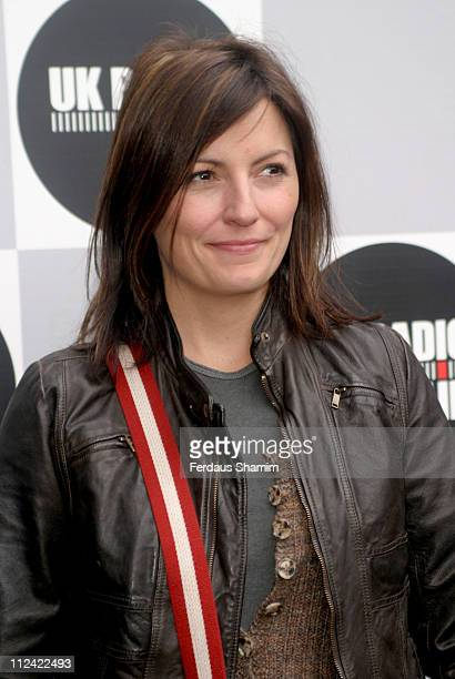 Davina McCall during UK Radio Aid to Benefit Victims of the Asian Tsunami - Outside Arrivals at Capital Radio in London, United Kingdom.