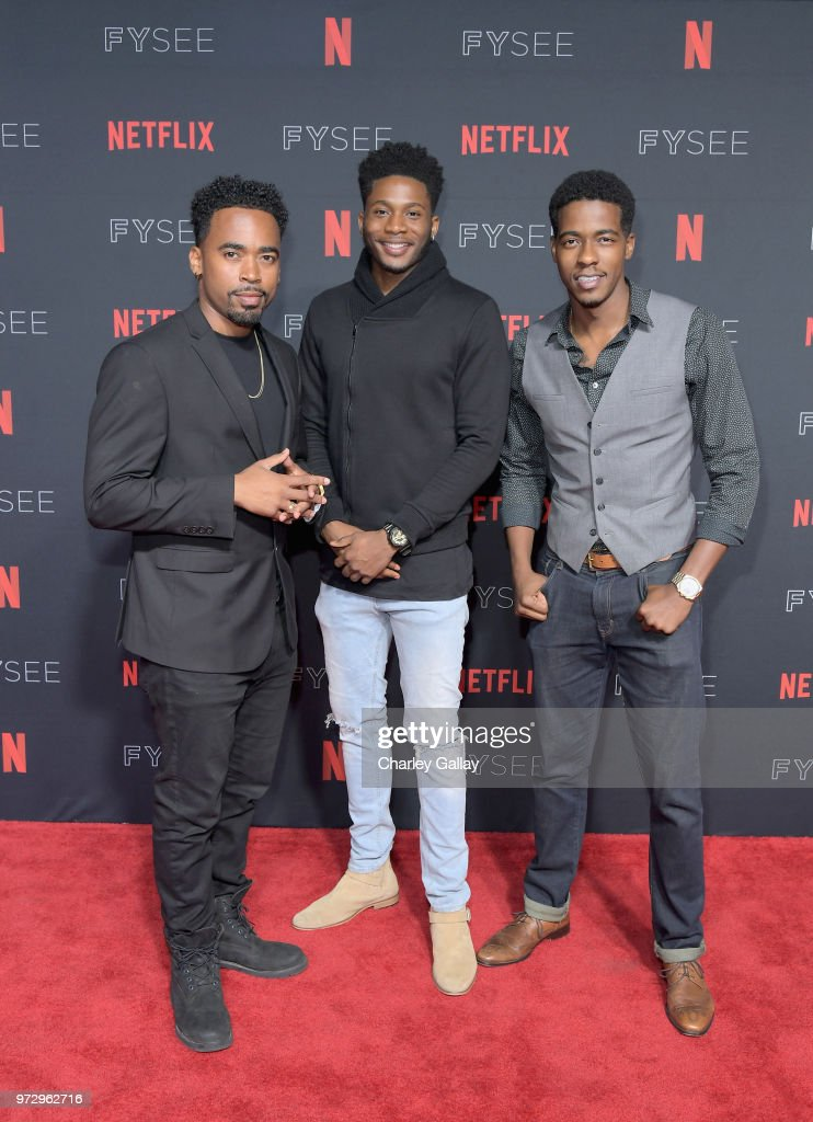 Da'Vinchi, attends Strong Black Lead party during Netflix FYSEE at Raleigh Studios on June 12, 2018 in Los Angeles, California.