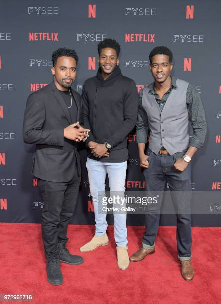 Da'Vinchi attends Strong Black Lead party during Netflix FYSEE at Raleigh Studios on June 12 2018 in Los Angeles California