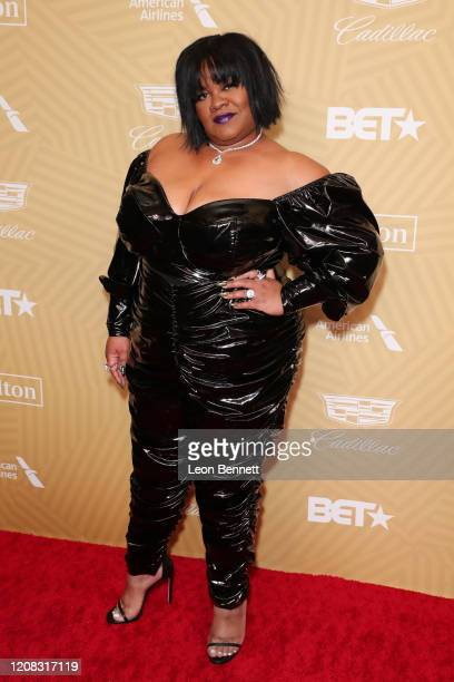 Da'Vine Joy Randolph attends American Black Film Festival Honors Awards Ceremony at The Beverly Hilton Hotel on February 23, 2020 in Beverly Hills,...