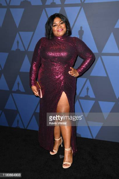 Da'Vine Joy Randolph attends the Academy Of Motion Picture Arts And Sciences' 11th Annual Governors Awards at The Ray Dolby Ballroom at Hollywood...