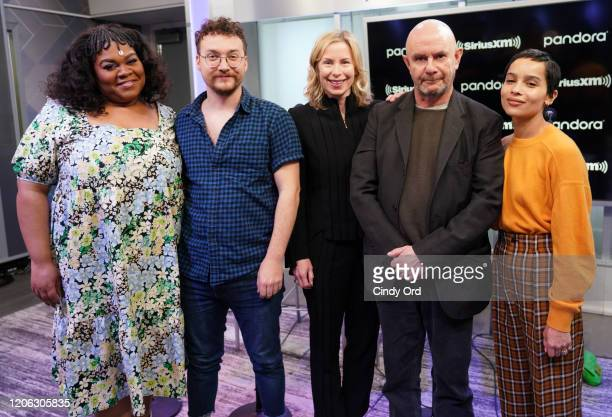 Da'Vine Joy Randolph David H Holmes Nick Hornby and Zoe Kravitz of Hulu's High Fidelity sit down for an interview with SiriusXM host Lori Majewski at...