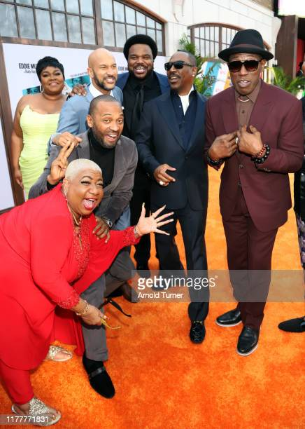 Da'Vine Joy Randolph Luenell Mike Epps KeeganMichael Key Craig Robinson Eddie Murphy and Wesley Snipes attend the Dolemite Is My Name premiere...