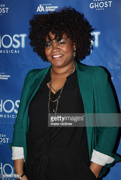 Da'vine Roy Randolph attending the 'Ghost the Musical' Meet Greet at the LuntFontanne Theatre in New York on 1/19/2012