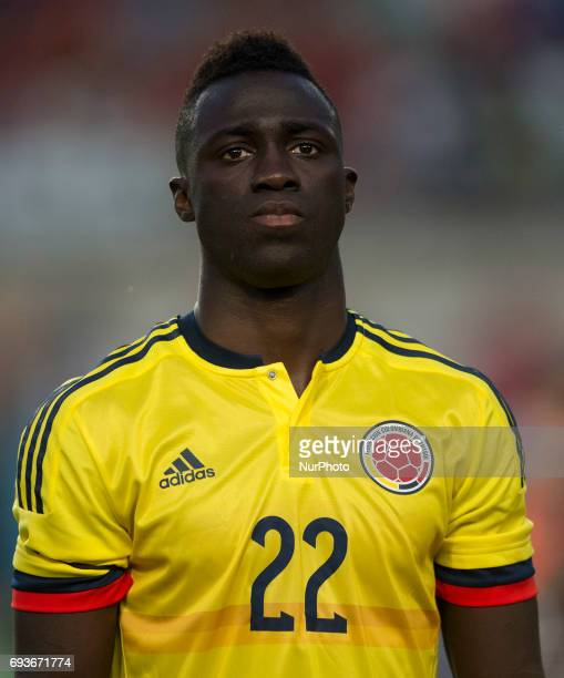 Davinson Sanchez during a friendly match between national team of Spain vs Colombia in Nueva Condomina Stadium Murcia SpainWednesday June 7 2017