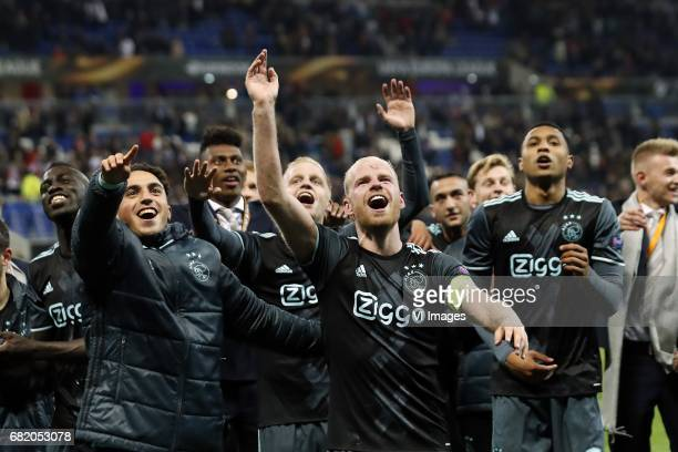 Davinson Sanchez of Ajax Abdelhak Nouri of Ajax Mateo Cassierra of Ajax Donny van de Beek of Ajax Davy Klaassen of Ajax Hakim Ziyech of Ajax Frenkie...