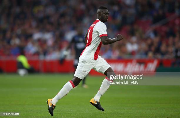 Davinson Sanchez of Ajax during the UEFA Champions League Qualifying Third Round match between Ajax and OSC Nice at Amsterdam Arena on August 2 2017...